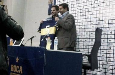 Boca presentó a Fernando Gago como refuerzo oficial