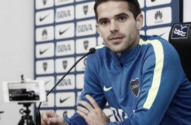 Pintita fue contundente y dijo que Boca sabe jugar estos juegos tan trascendentales. Foto: Javier García Martino