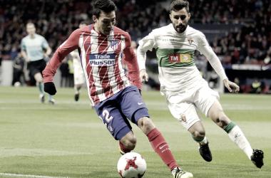 Empieza la cuenta atrás para la marcha de Gaitán: los 6 posibles destinos | FOTO: Atlético de Madrid