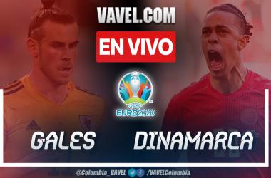 Resumen: Gales vs Dinamarca (0-4) por Octavos de Final de la UEFA Euro 2020