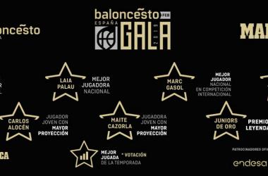 Gala del baloncesto español / feb.es