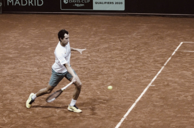"""Galán: """"Para mí siempre ha sido especial jugar en Copa Davis"""""""