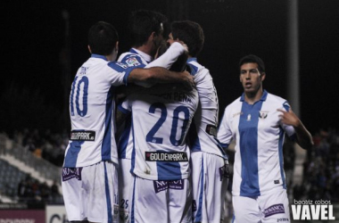 Fotos e imágenes del Leganés 3-1 Alavés. Tercera ronda de Copa del Rey