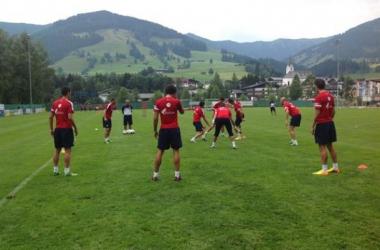 El Athletic vuelve a los entrenamientos tras el empate ante el Hoffenheim