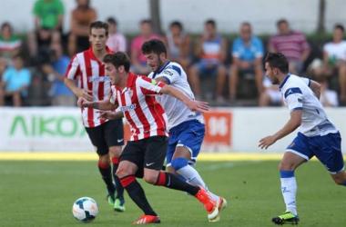 El Athletic muestra sus carencias ante el Zaragoza