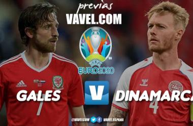 Previa Gales vs Dinamarca: lucha de titanes en Ámsterdam