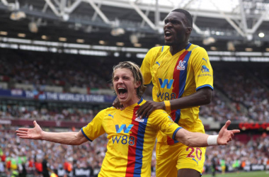As it happened: West Ham 2-2 Crystal Palace - Spoils shared in fiery London derby.