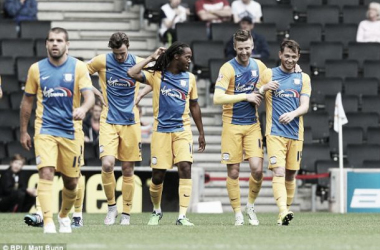 MK Dons 0-1 Preston North End: Physical Preston deny Dons a share of the points