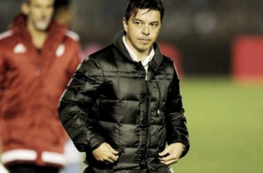 Gallardo, preocupado por una posible transferencia de Lucas Alario (Foto: Olé)