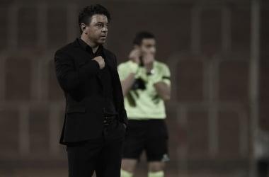 El Muñeco y una nueva demostración de su equipo (Foto: Prensa River)