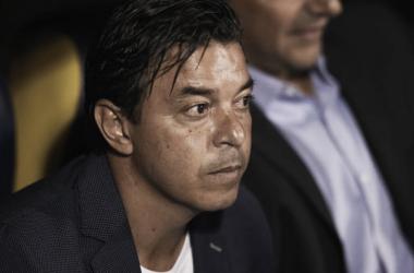 Gallardo conforme con el rendimiento de su equipo (Foto: Getty)