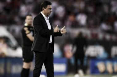 Gallardo sabe que el equipo tendrá que recuperarse rápidamente de este traspié (Foto: Getty)