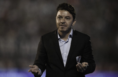 Gallardo valoró el rendimiento del elenco alternativo (Foto: Prensa River)