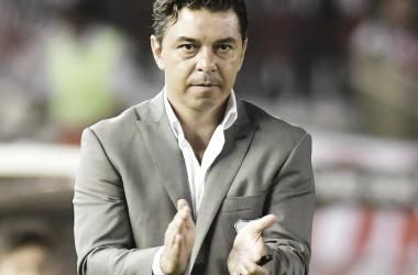 Gallardo volvió a valorar la actuación de su equipo (Foto: Marcelo Carroll | Clarín)