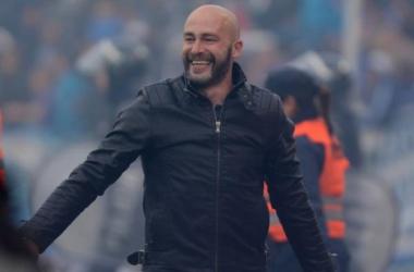 Méndez sonriente con su gran paso por el Tomba | Foto: Web