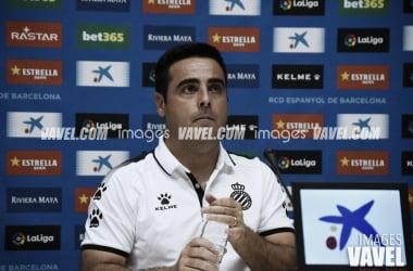 """David Gallego: """"Felicitar a la familia espanyolista''"""