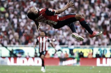 José Juan Vázquez celebrando el gol del título   Foto: Imágenes de Chivas