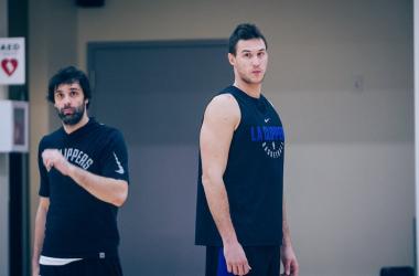 """NBA - Ancora forfait per Gallinari: """"Non sono pronto"""" - Foto Clippers Twitter"""