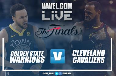 Resumen Golden State Warriors vs Cleveland Cavaliers en Finales NBA 2018 (122-114)