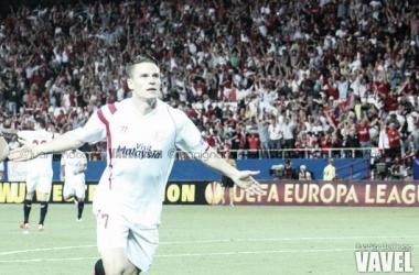 Gameiro, el más apto para el Manchester-Sevilla