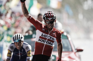 Gran victoria del Marczinski | Fotografía: La Vuelta