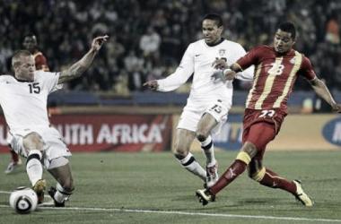 Gana e Estados Unidos vão voltar a medir forças um contra o outro depois de terem jogado juntos no Mundial 2010.