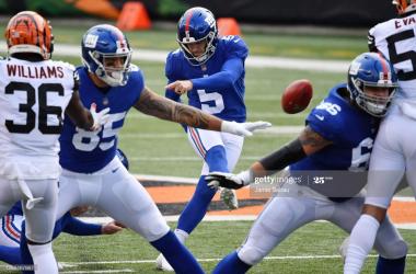 New York Giants summit NFC East after beating Cincinnati Bengals