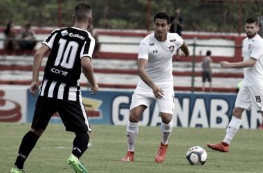 Ganso e sua missão de armar o jogo (Foto: Mailson Santana/ Fluminense)