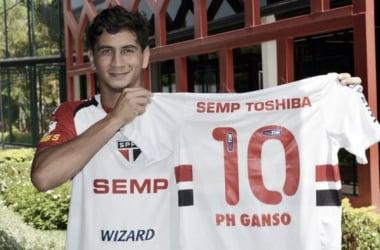 Paulo Henrique Ganso herda camisa 10 do São Paulo