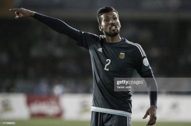 LIDER. Garay, fue uno de los puntos altos en su estadía por la Selección Argentina. Foto: Getty images