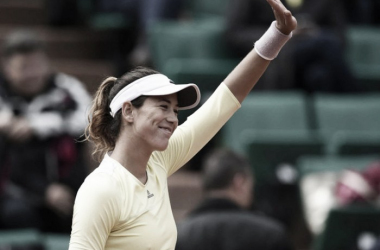 Garbine Muguruza in action during the French Open (Source: AFP)