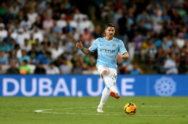 The Premier League champions were keen on selling one of the Spanish duo before Negredo broke his fifth metatarsal in City's 2-1 pre-season win over Hearts.