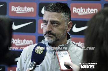 El entrenador azulgrana en una imagen de archivo / Foto: Beto Fotógrafo (VAVEL.com)