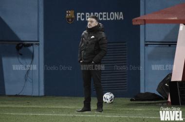 García Pimienta, esta temporada en el Johan. Foto: Noelia Déniz.