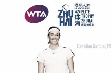 Caroline Garcia was one of the few players who played at a consistent level throughout the year | Edit: Don Han