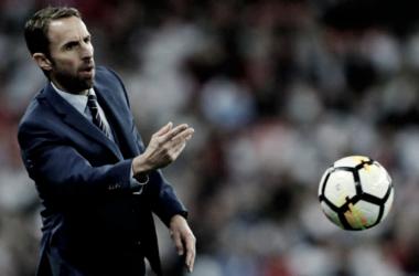 Gareth Southgate en un partido | Foto: The FA