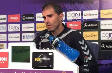 """Gaizka Garitano: """"No pienso en mi futuro, lo único importante es el Real Valladolid"""""""