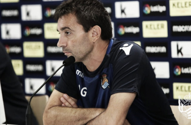 """Garitano: """"Quería un jugador diferente y Sandro lo es"""""""