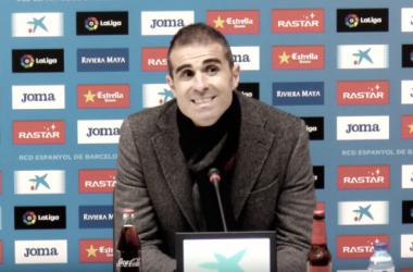 """Garitano: """"No voy a hablar del árbitro, por si acaso"""""""