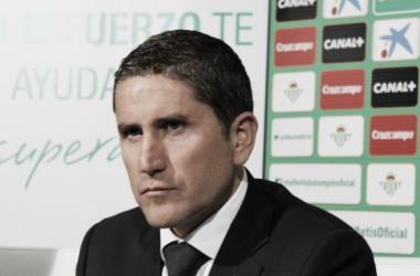 Garrido se despide del Betis a través de una carta