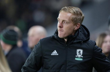 Disheartened Garry Monk (above) is looking for a reaction from his players.