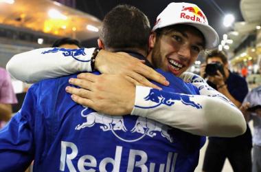 Foto Toro Rosso Twitter