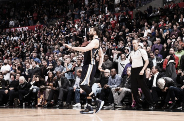 Marc Gasol struts his stuff in the Grizzlies victory over LA. | Photo: Los Angeles Clippers