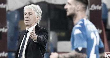Gasperini aprova atuação da Atalanta contra Napoli fora de casa
