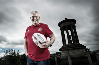 Gatland will lead the Lions in New Zealand next summer (image via: LionsOfficial)