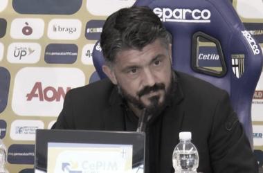 Mesmo com goleada e classificação às semifinais, Gattuso critica rumores sobre saída do Napoli
