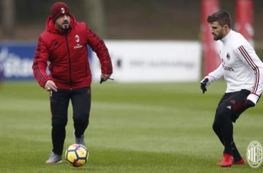 Gattuso pronto a tornare al 4-3-3 contro il Bologna