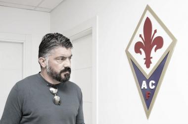 Treinador chegou a visitar instalações do clube (Foto: Divulgação/ACF Fiorentina)