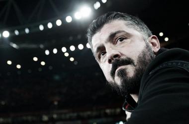 Gattuso confesó que la diferencia en la eliminatoria les hará daño | Foto: acmilan.com