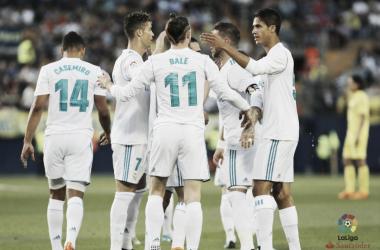 Gareth Bale, a segno contro il Villarreal. Fonte: LaLiga.es
